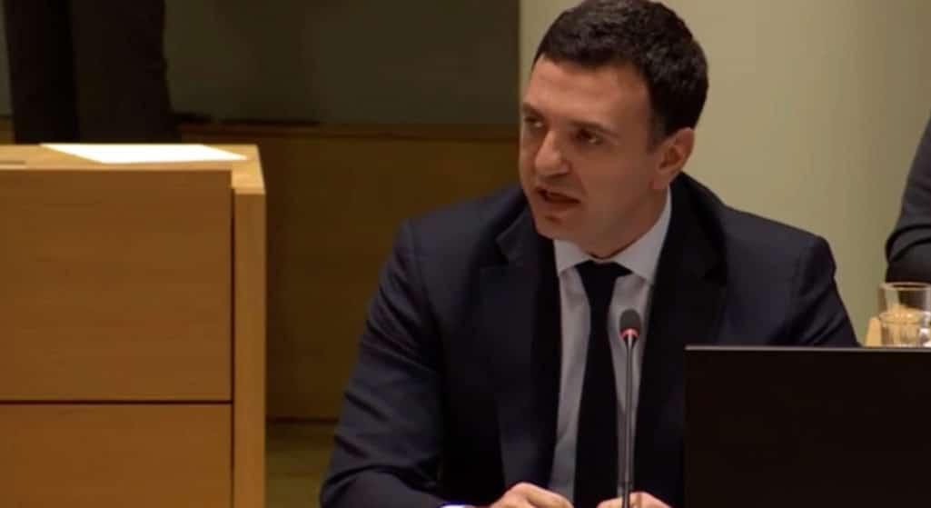 Ο Υπουργός Υγείας Βασίλης Κικίλιας συμμετείχε στο έκτακτο Συμβούλιο Υπουργών Υγείας της Ευρωπαϊκής Ένωσης, που έλαβε χώρα σήμερα στις Βρυξέλλες, για τον κοροναϊό COVID-19.