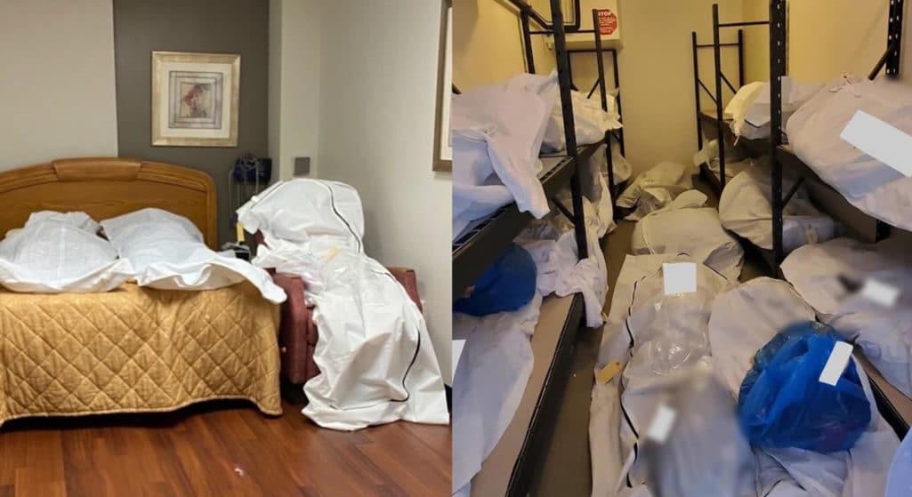 Κορωνοϊός: Νεκροί σε σάκους – Σοκαριστικές φωτό από νοσοκομείο