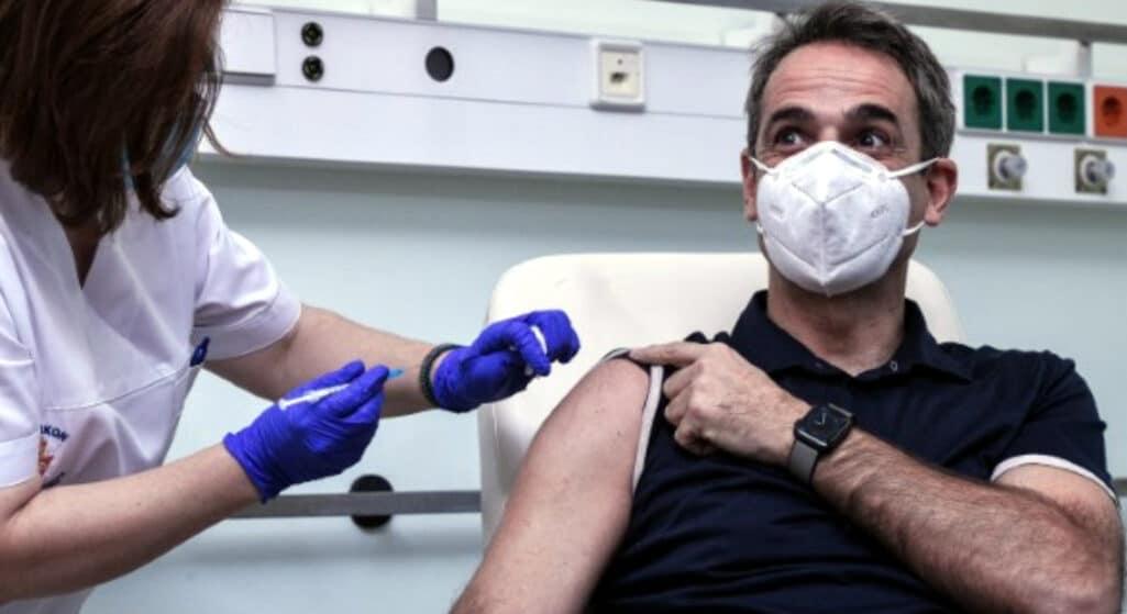 Αύριο ο πρωθυπουργός Κυριάκος Μητσοτάκης θα κάνει την τρίτη δόση του εμβολίου για τον κορωνοϊό, όπως ανακοίνωσε ο κυβερνητικός εκπρόσωπος Γιάννης Οικονόμου.