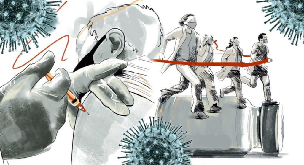 Σε πλήρη εξέλιξη βρίσκεται η επιχείρηση «Ελευθερία» στον απόηχο της μετάλλαξης Δέλτα που εξακολουθεί να σαρώνει τη χώρα, με τους ειδικούς να απευθύνουν καθημερινές εκκλήσεις για εμβολιασμό προκειμένου να χτιστεί το επιθυμητό τείχος ανοσίας που θα επιτρέψει τη σταδιακή επιστροφή στην κανονικότητα