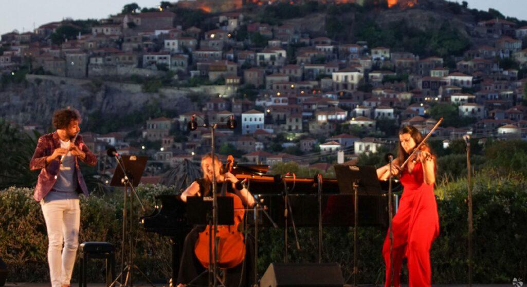 """Η Βιομηχανία Φαρμάκων DEMO για άλλη μια χρονιά στήριξε με την χορηγία της το Διεθνές Φεστιβάλ Μουσικής Μολύβου, με τίτλο """"Ελευθερία- Liberty"""", που πραγματοποιήθηκε από τις 10 έως και τις 19 Αυγούστου στο νησί της Λέσβου."""