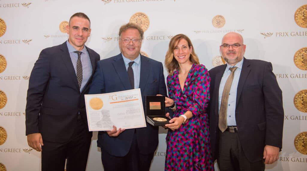 Στη φετινή διοργάνωση Prix Galien Greece 2021, η Novartis επιβεβαίωσε τη θέση της στην πρώτη γραμμή της επιστημονικής πρωτοπορίας με τις δύο καινοτόμες θεραπείες της στον τομέα των γονιδιακών θεραπειών.