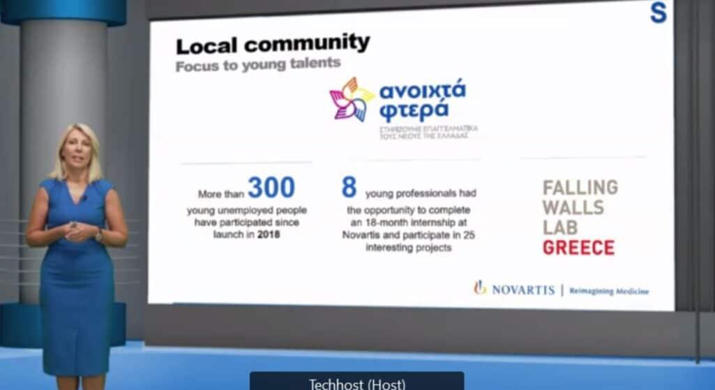 Φωτεινή Μπαμπανάρα, Επικεφαλής του Τμήματος Επικοινωνίας (Country Head of Communications & Patient Engagement) της Novartis Hellas