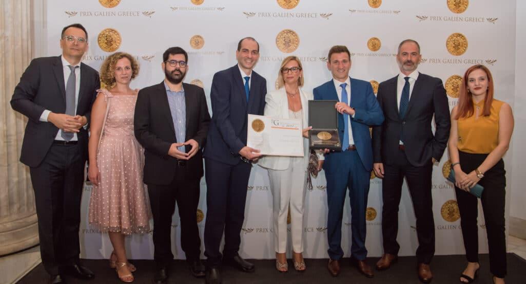 Η Chiesi Hellas απέσπασε τιμητική διάκριση στην 5η τελετή απονομής των φαρμακευτικών βραβείων Prix Galien, ως τιμώμενη εταιρεία για την πιστοποίηση B Corp (Benefit Corporations) και τη συνεισφορά της στην κοινωνία και το περιβάλλον.