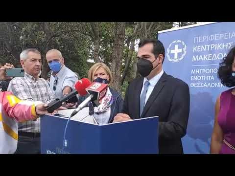 Δεν τίθεται ζήτημα για περαιτέρω μέτρα στη Θεσσαλονίκη, όπως δήλωσε ο υπουργός Υγείας Θάνος Πλεύρης, όπου μετέβη σήμερα στην πόλη μαζί με την αναπληρώτρια υπουργό Υγείας Μίνα Γκάγκα, με φόντο την ανησυχητική εικόνα της πανδημίας στη Βόρεια Ελλάδα.