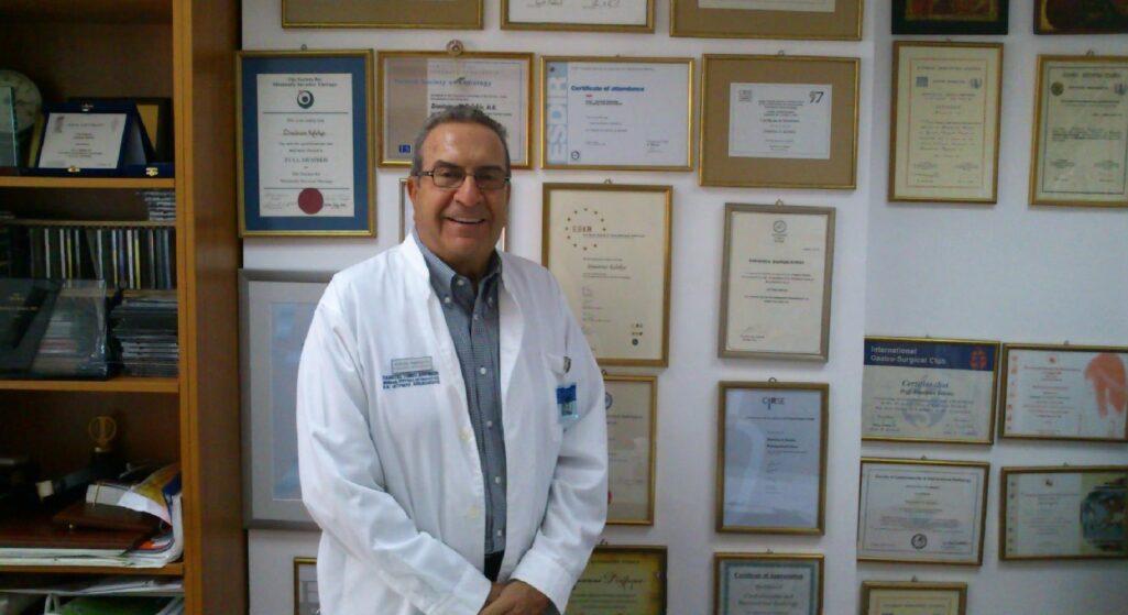 «Έφυγε» σε ηλικία 83 ετών ο καθηγητής Δημήτρης Κελέκης και «πατέρας» της επεμβατικής ακτινολογίας βραβευμένος με χρυσό μετάλλιο από τη διεθνή ιατρική κοινότητα, θεράπευσε και εξέτασε 17.000 ανθρώπους δωρεάν, για να εξελίξει την κλινική του έρευνα.