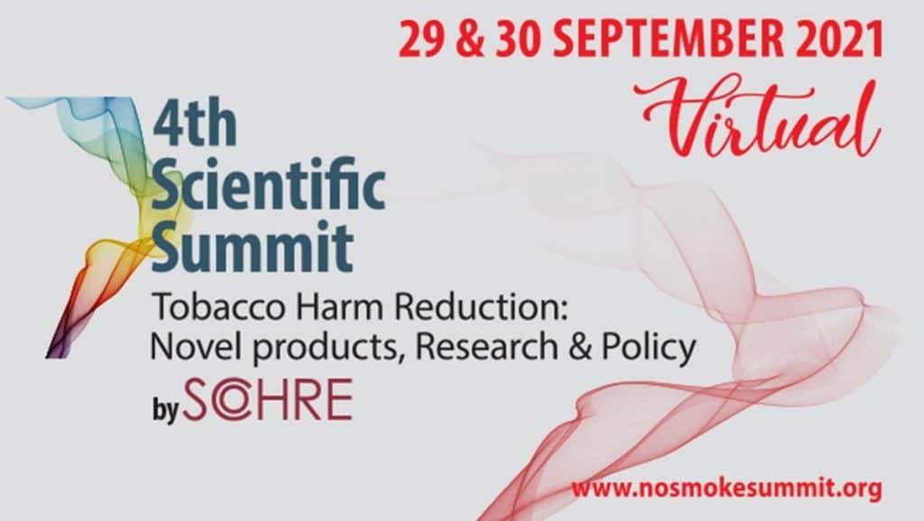 """Το αυξανόμενο ενδιαφέρον των ειδικών όσον αφορά τις καινοτόμες προσεγγίσεις για τον έλεγχο του καπνίσματος, όπως η μείωση της βλάβης από τον καπνό, που αποτελεί σημαντικό στοιχείο της πρόληψης ασθενειών, συμπεριλαμβανομένου του καρκίνου ανέδειξε το φετινό συνέδριο """"4th Scientific Summit on Tobacco Harm Reduction, Novel Products, Research and Policy"""" που διοργανώθηκε από το SCOHRE."""